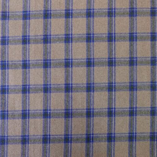 Двухсторонняя пальтовая ткань с мехом