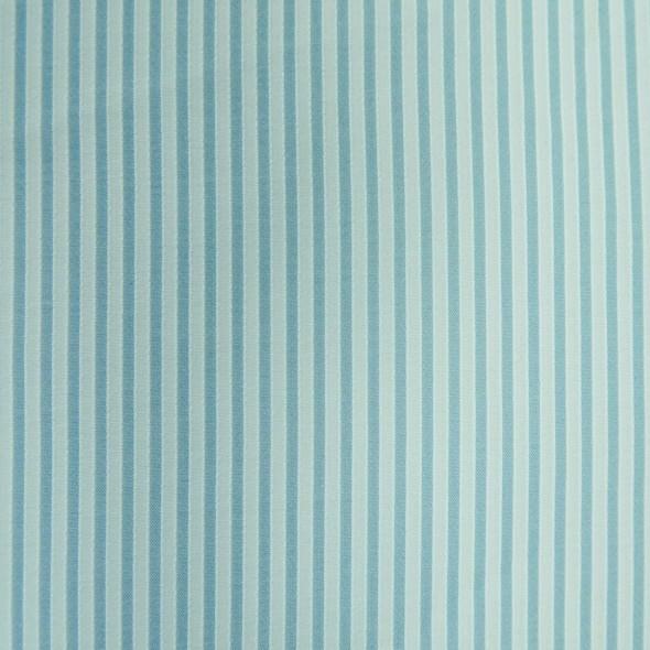 Ткань батист голубой в полоску
