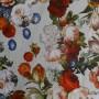 Ткань хлопок с цветочным принтом
