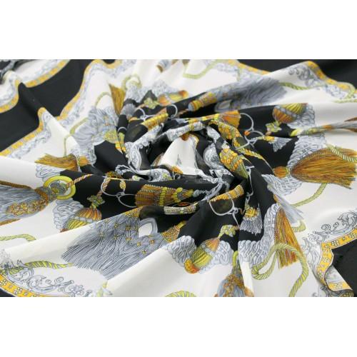 Шифон,купонный,в виде платочков