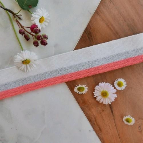Подвязы трикотажные с яркими полосками