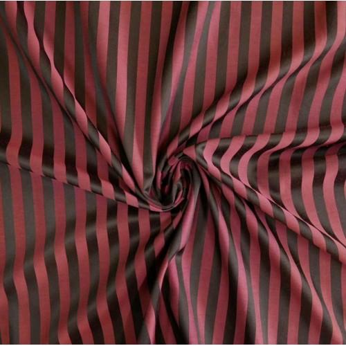 Ткань хлопковая с шелком,в полоску