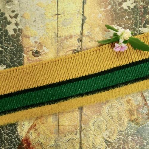 Трикотажные подвязы для плотных тканей с пушистым краем (Артикул: 256)