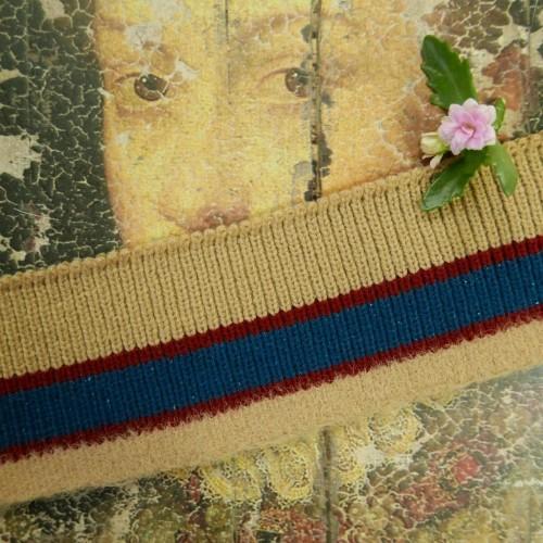 Трикотажные подвязы для плотных тканей с пушистым краем (Артикул: 257)