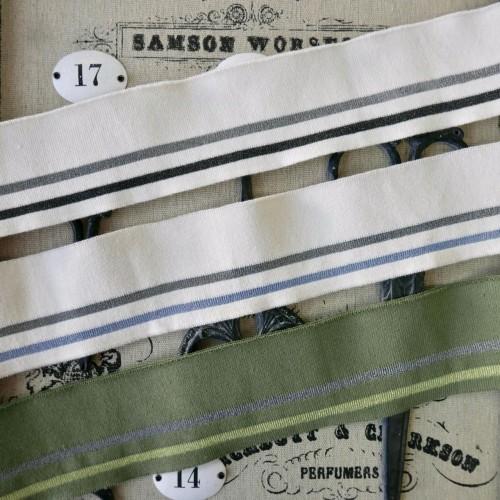 Подвязы трикотажные с прозрачными полосками (Артикул: 299)