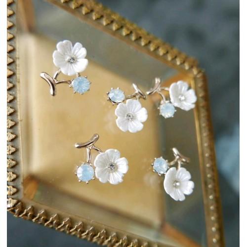 Пришивной декоративный элемент цветок