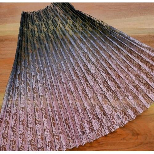 Кружевное гофрированное полотно для юбки