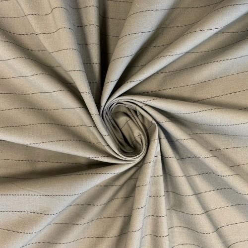 Ткань рубашечно-плательный хлопок в полоску