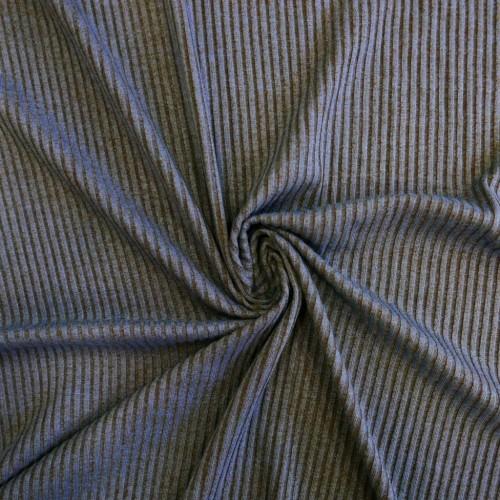 Ткань трикотаж-лапша меланжевые