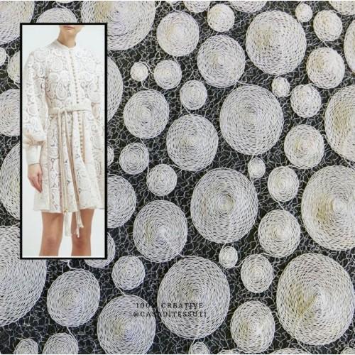Ткань кружево ажурное