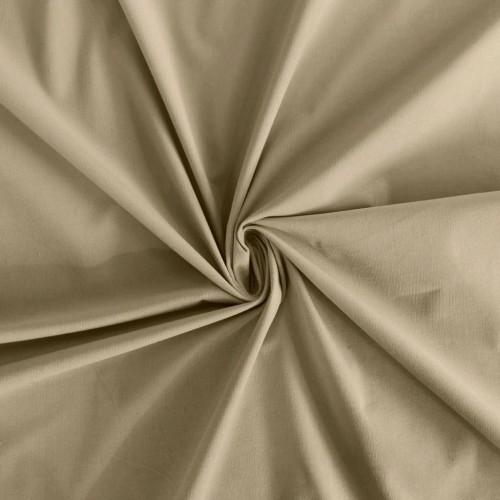 Ткань микровельвет хлопковый, цвет: беж