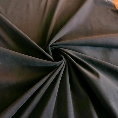 Ткань микровельвет хлопковый, цвет: серый