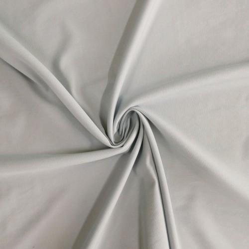 Ткань хлопок эластичный плательный светло-голубой