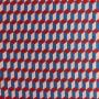Ткань шелк 100% с геометрическим принтом