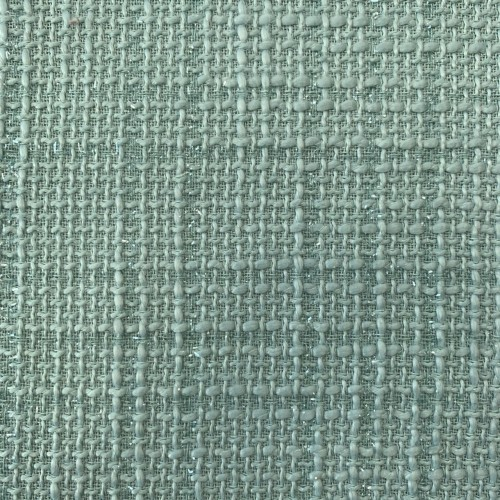 Классический твид нежного мятного оттенка с блестящими нитями в тон