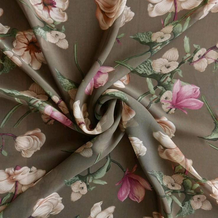 Купить Ткань Шифон Для Платья