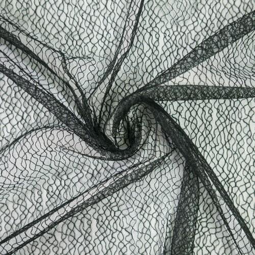 Ткань прозрачная сетка с абстрактным рисунком