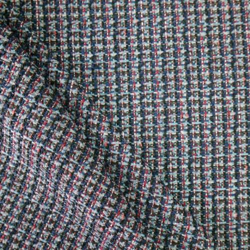 Твид меланжевый с разноцветными нитями