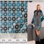 Ткань костюмно-пальтовая с геометрическим узором