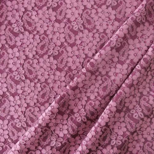 Ткань кружево непрозрачное на трикотажной основе