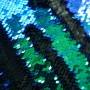 Ткань пайетки хамелеон на атласной основе